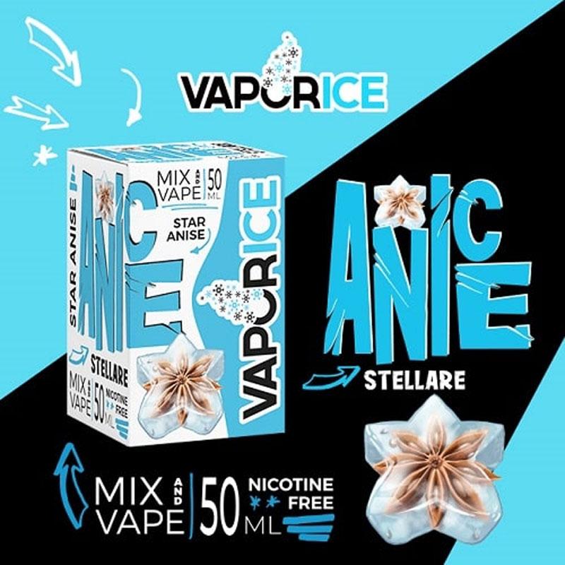 Vaporart Vaporice Anice Stellare 50 ml Mix Liquido per Sigaretta Elettronica
