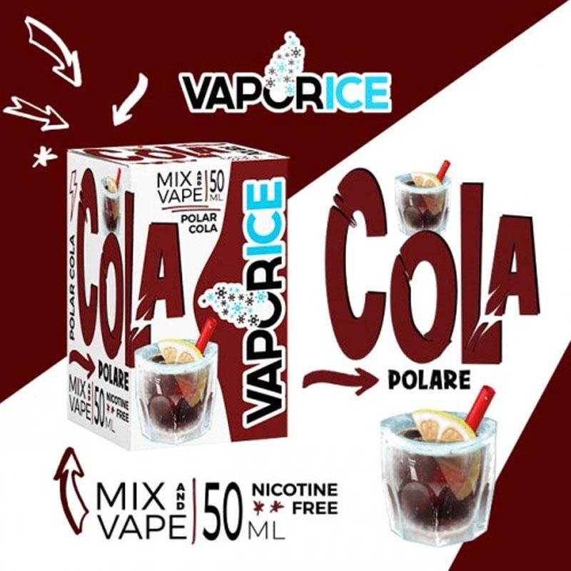 Vaporart Vaporice Cola Polare 50 ml Mix Liquido per Sigaretta Elettronica