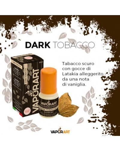Vaporart Dark Tobacco 10 ml Liquido Pronto Nicotina