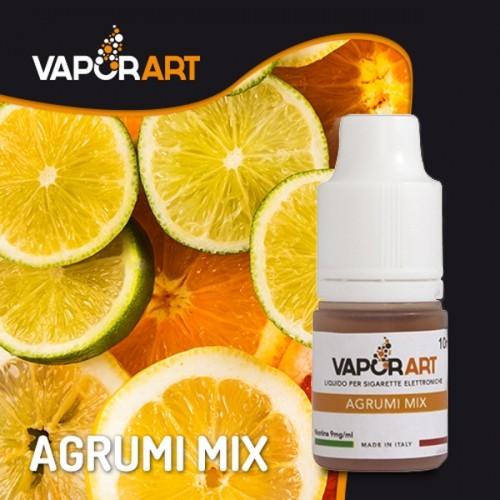 Vaporart Agrumi Mix 10 ml Nicotine ready eliquid is a flavor of mediterrranean fruits