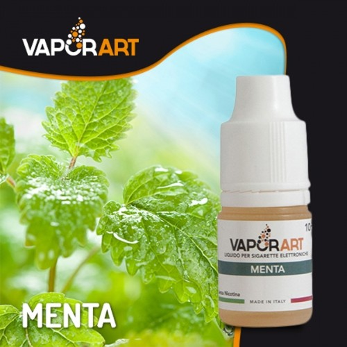Vaporart Liquido pronto con Nicotina al sapore di Menta Piperita