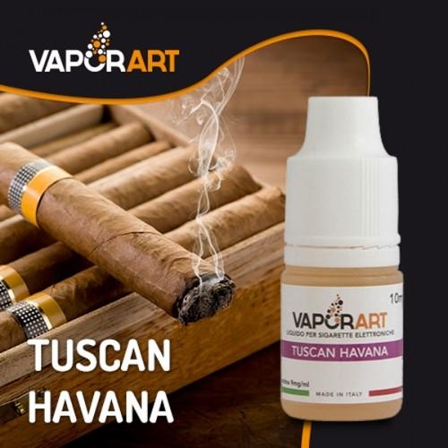 Il Tuscan Havana della Vaporart è un liquido pronto al sapore tipico del sigaro