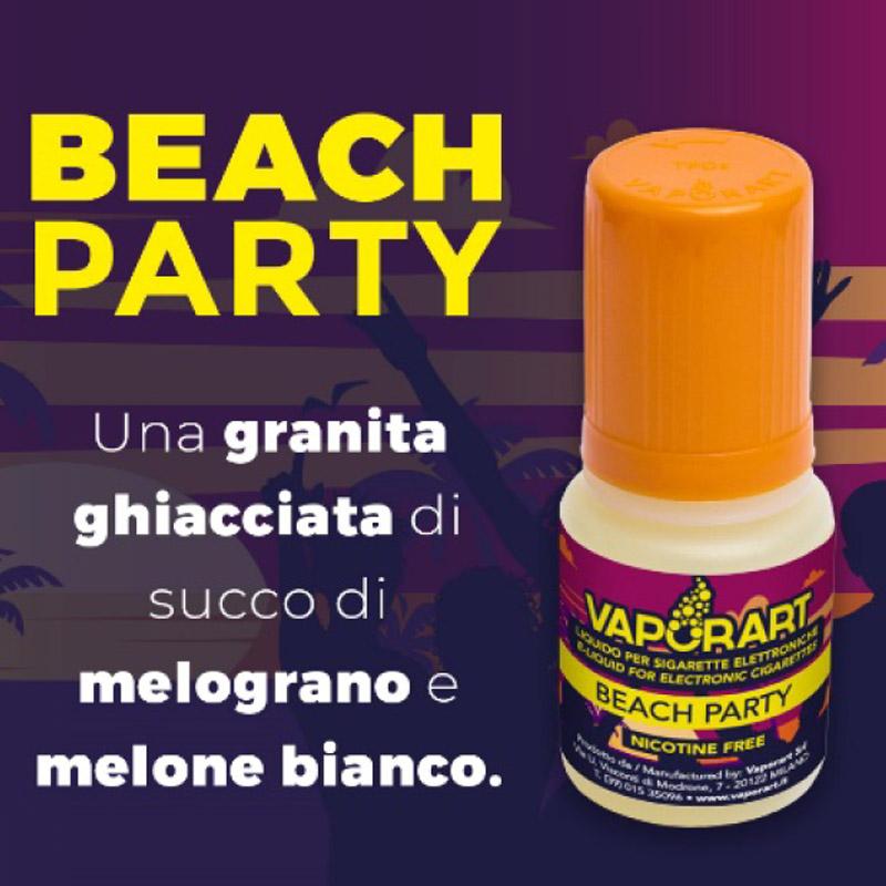 Finalmente disponibile in formato 10ml il beach party di vaporart