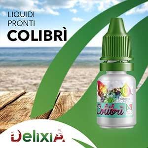 Delixia Colibrì 10 ml Liquido Pronto Nicotina