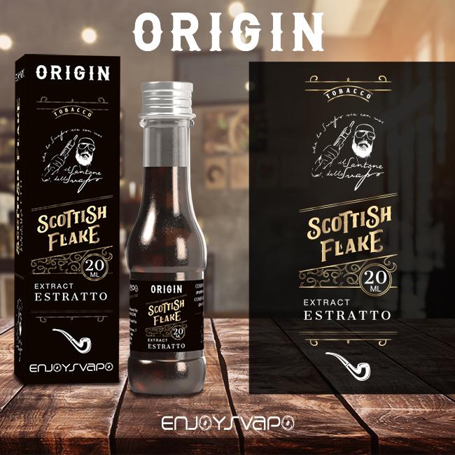 Un tabacco e whiskey creato da Enjoy svapo in collaborazione con il santone dello svapo