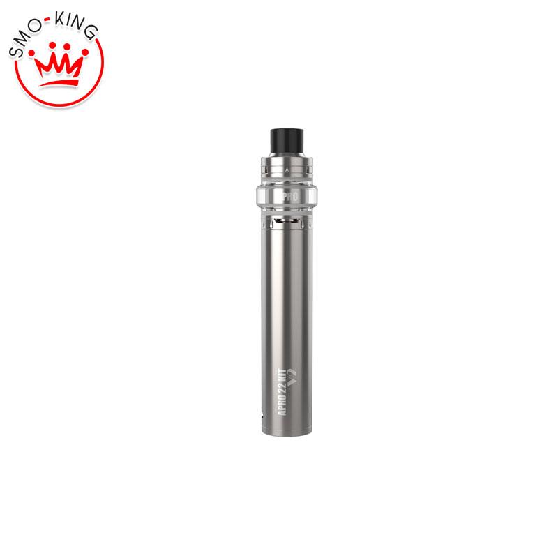 Youde Apro 22 V2 Kit completo sigaretta elettronica, tubo semi meccanico con coil pronte intercambiabili