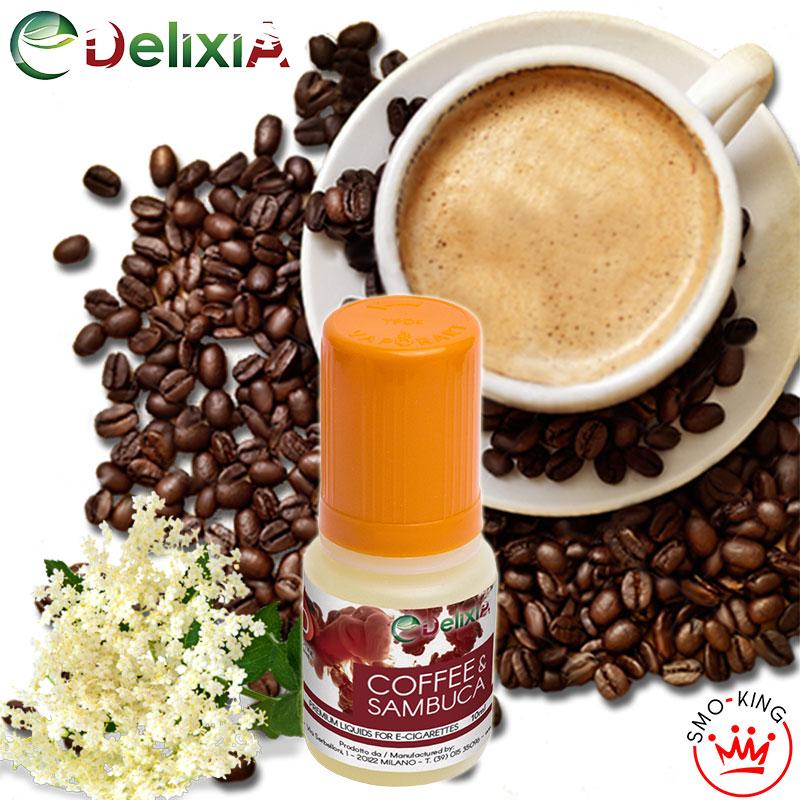 Delixia Coffee & Sambuca 10 ml Liquido Pronto Nicotina al sapore di caffè corretto