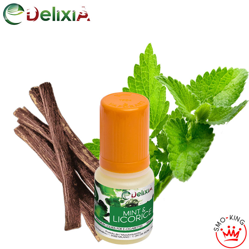Delixia Mint & Licorice 10 ml Liquido Pronto Nicotina