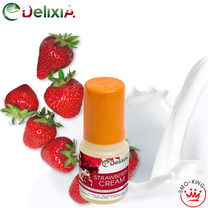 Delixia Strawberry Cream 10 ml Liquido Pronto Nicotina
