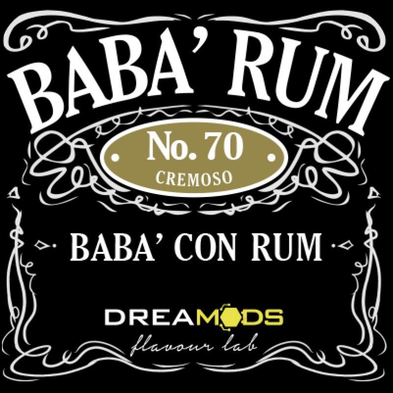 Dreamods Babà Rum aroma concentrato 10ml da diluire in base neutra ha un sapore dolce e soffice Babà al Rum