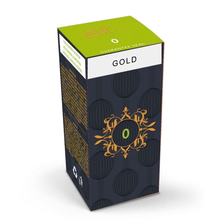 Elit Italia Gold 10 ml Liquido Pronto Nicotina