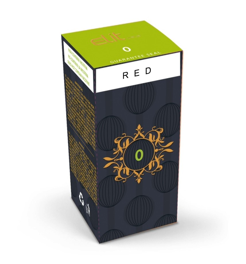 Elit Italia Red 10 ml Liquido Pronto Nicotina