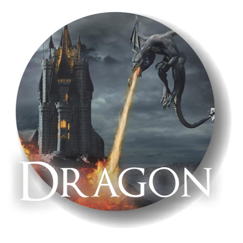 Dragon è un aroma concentrato della Jamplab, un tabacco scuro unito alla fredda menta