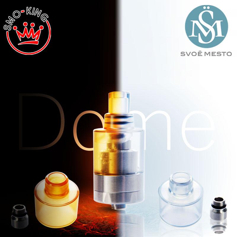 Il Bell Cap prodotto da Svoemesto è perfetto per cambiare look al tuo atom e aumentare la capacità del liquido
