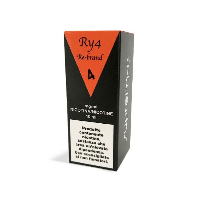 liquido pronto 10 ml ry4 rebrand di suprem-e un tabaccoso dalle mille sfaccettature