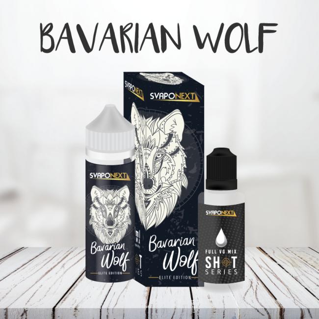 Un liquiido tabaccoso con crema bavarese e irish cream questo è il bavarian wolf
