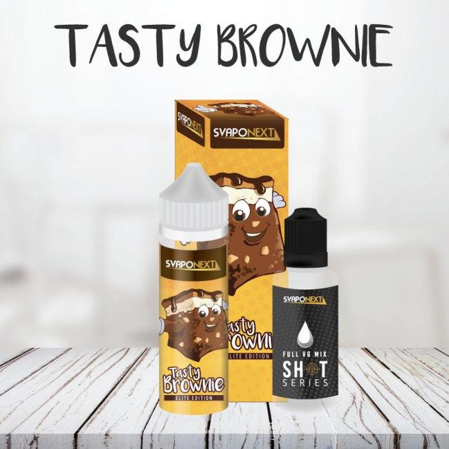Un brownie al cioccolato da svapare. Squisito
