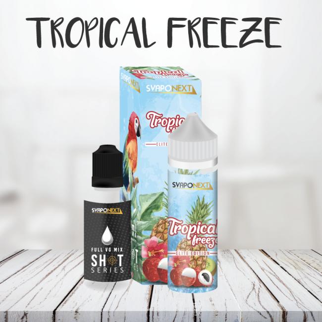 Frutta tropicale e ghiaccio si incontrano in questo Tropical Freeze per dar vita a nuove sensazioni