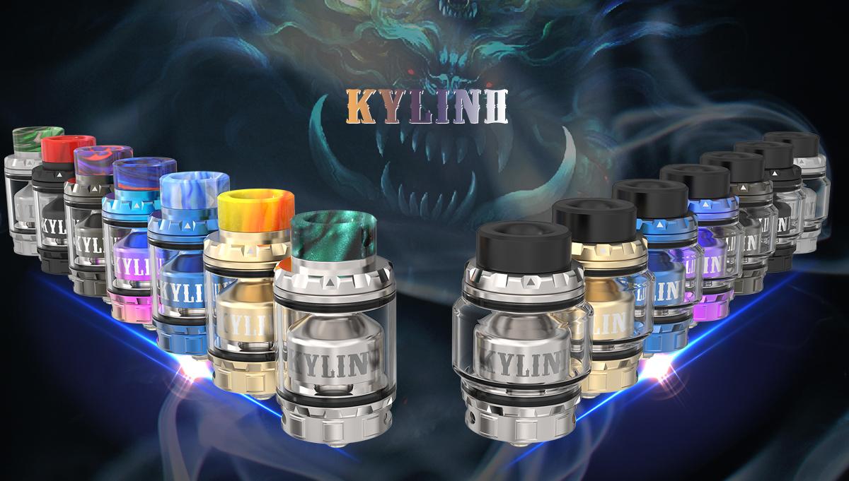 Tantissimi colori tra cui scegliere per il tuo Kylin V2
