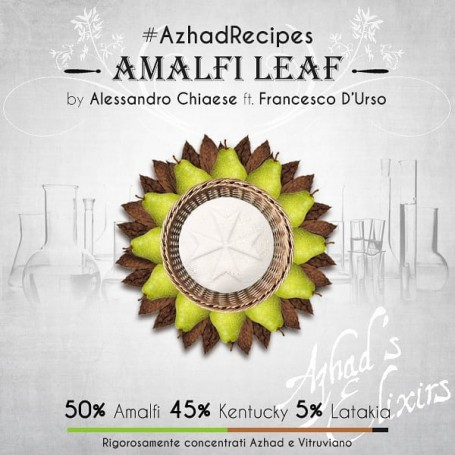 Top 5 Aromi Sigaretta Elettronica azhad aromi my way Azhad Aromi Sigaretta Elettronica My Way Azhad Recipe Amalfi Leaf Kit