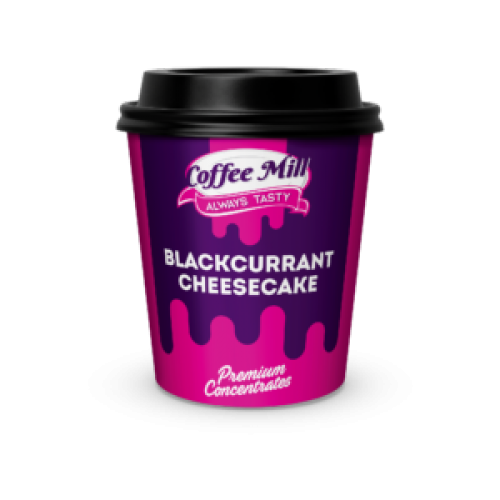Coffee Mill Blackcurrant Cheesecake