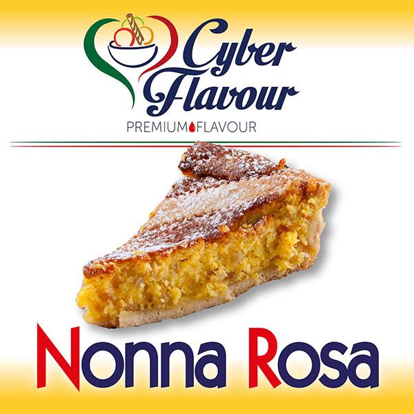 Aroma Nonna Rosa di Cyber Flavour, pastafrolla, ricotta, grano e arancio