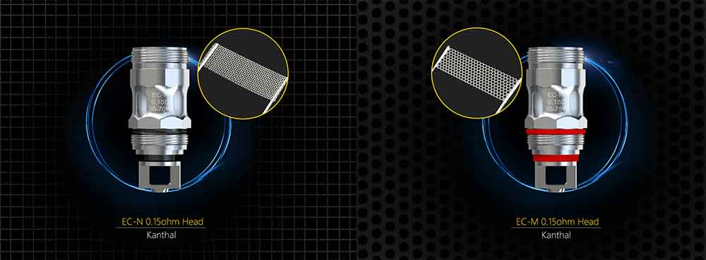 Le mesh coil di ricambio per tutti i tuoi atomizzatori Eleaf