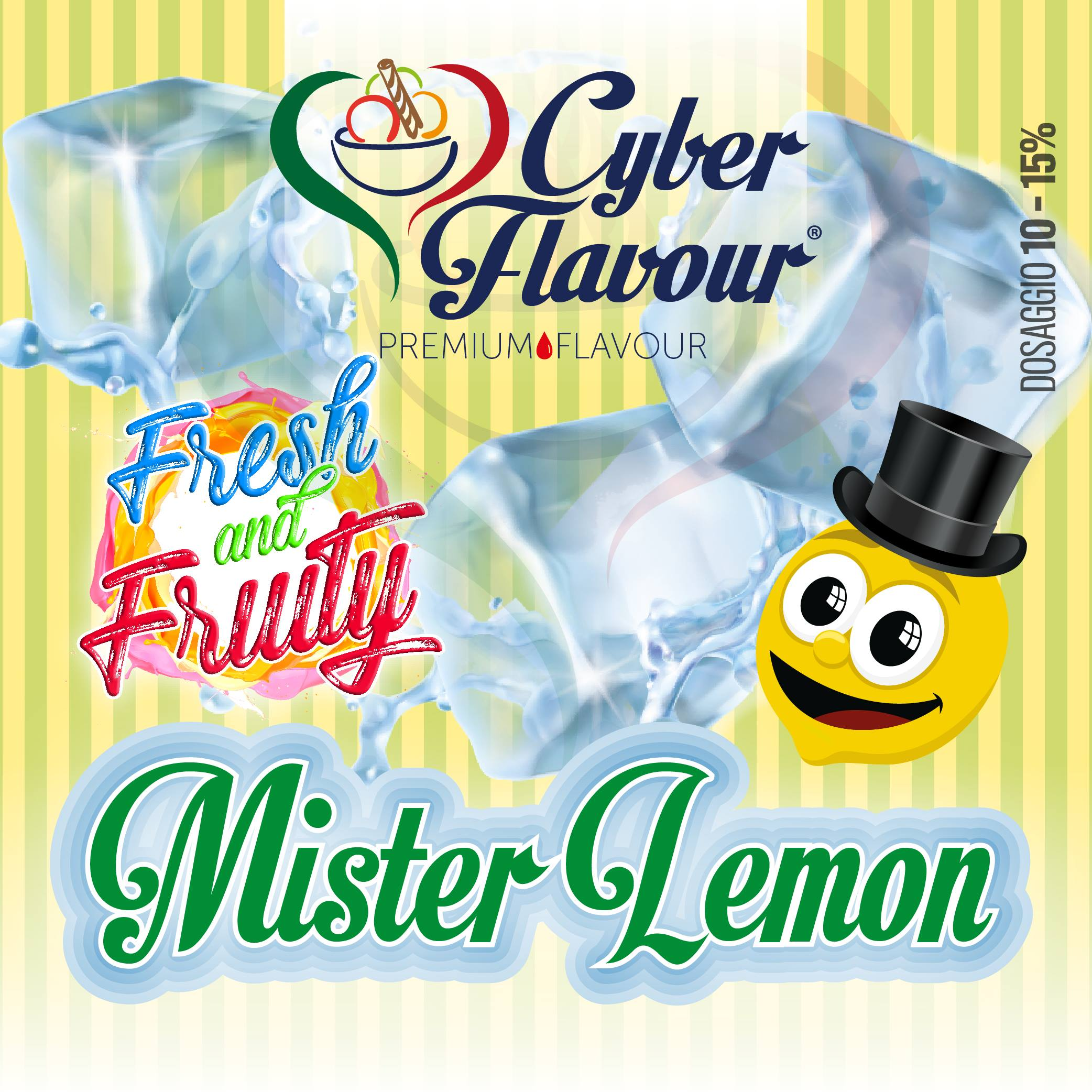Cyber Flavour Mr Lemon Aroma