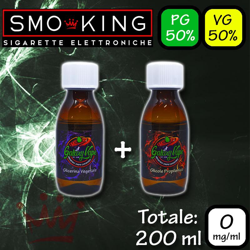 Il kit per creare la tua base a nicotina 0