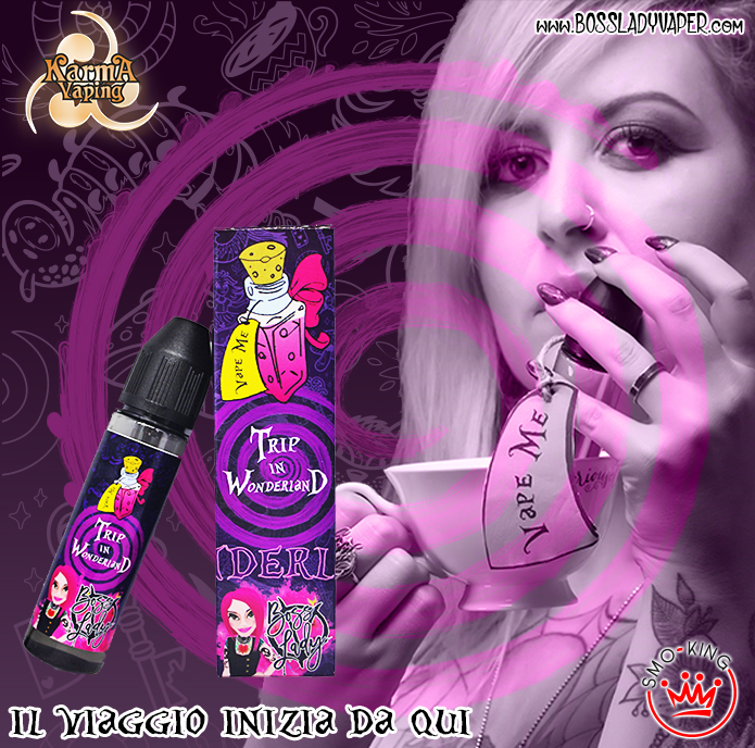 iron vaper tripi in wonderland [object object] Iron Vaper Trip in Wonderland Concentrato 20ml fede roma23