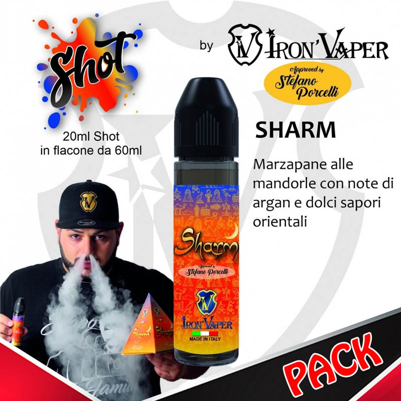 Iron Vaper Sharm Limited Edition pacchetto completo