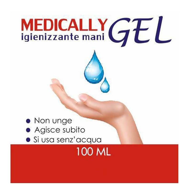 Medically Gel disinfettante mani 100ml