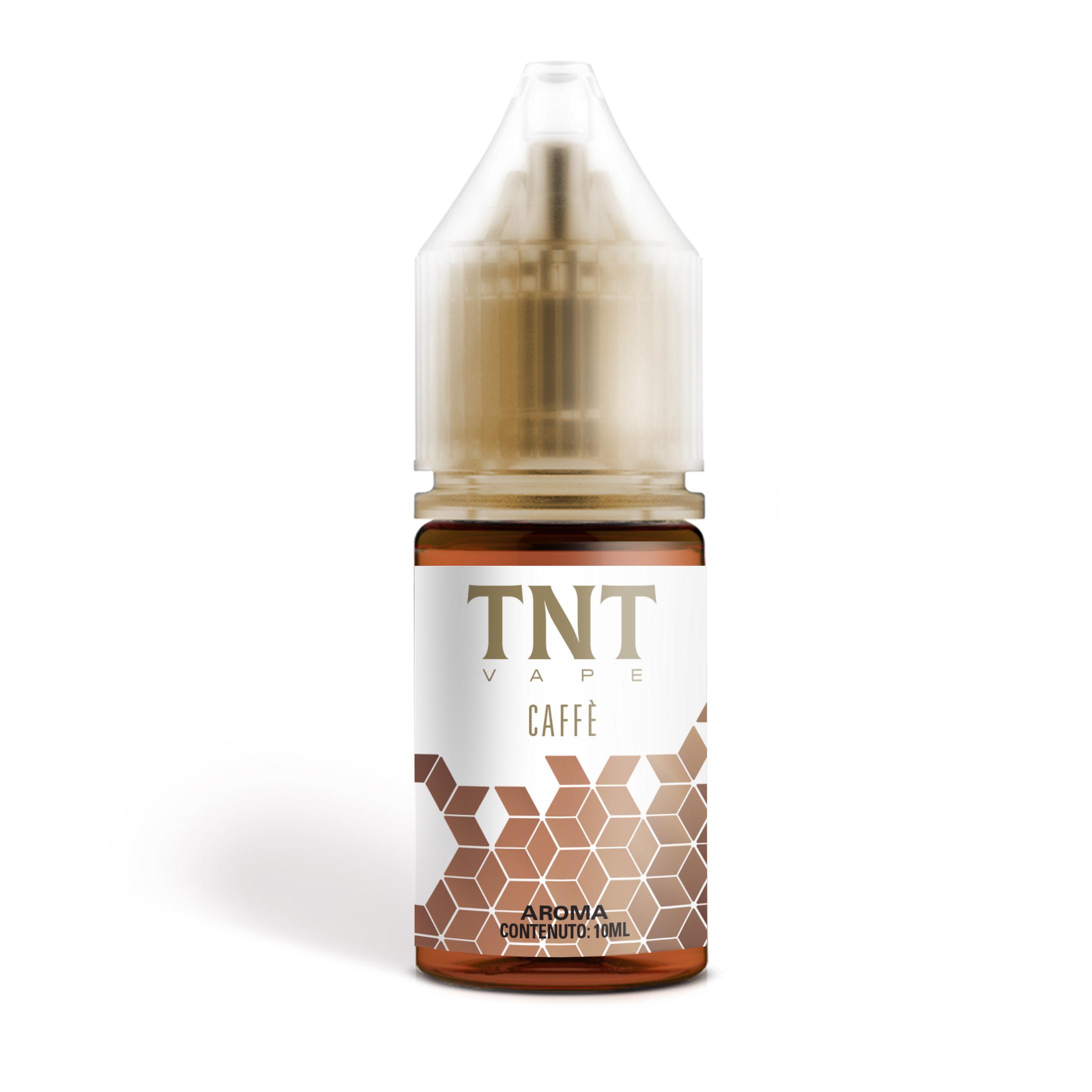 Aroma al Caffè della TNT Vape serie Colors. Svapabile all day.
