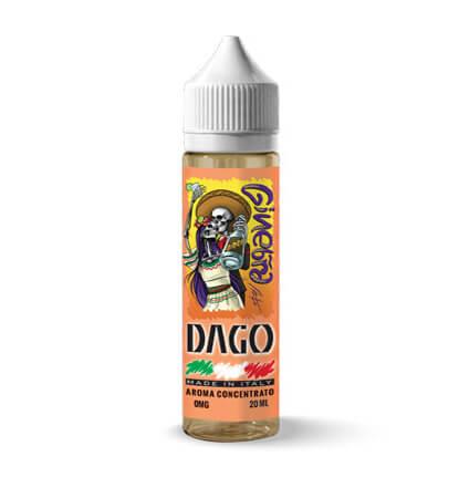 acquista su smo-king il nuovo DAGO Ginebra Aroma 20 ml con gin lemon frutta messicana e cetriolo