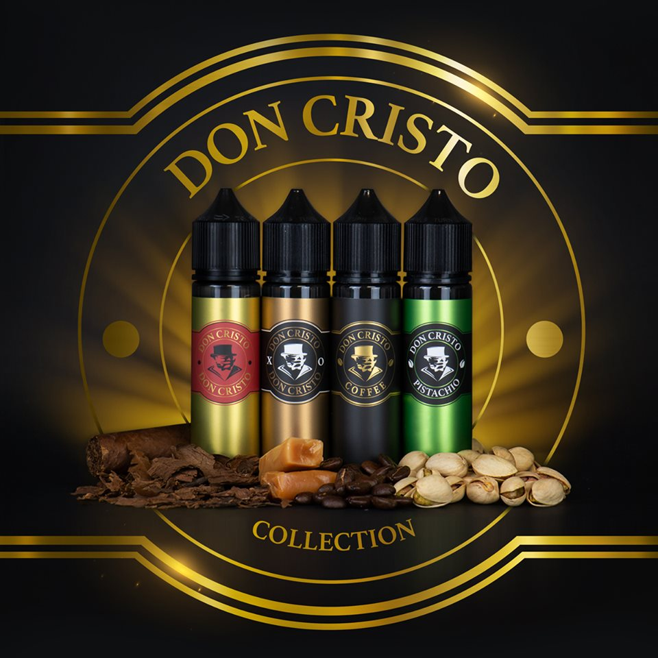Tutta la linea Don Cristo disponibile da Smo-king