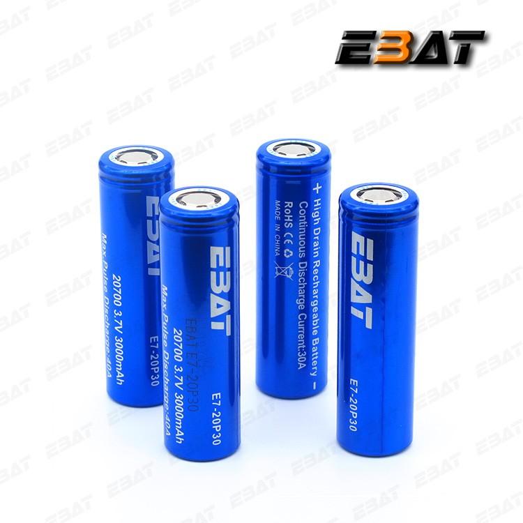Batterie 20700 per le tue sigarette elettroniche