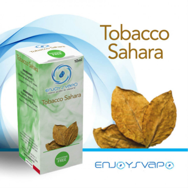 Dsipnibile su Smo-king shop il liquido pronto Enjoysvapo Tobacco Sahara 10ml per la sigaretta elettronica