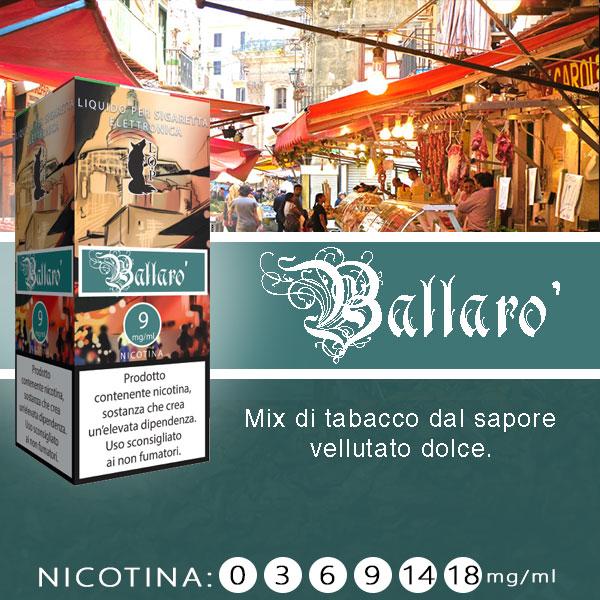 Lop Ballaro' 10 ml Liquido Pronto Nicotina al sapore di tabacco vellutato dolce