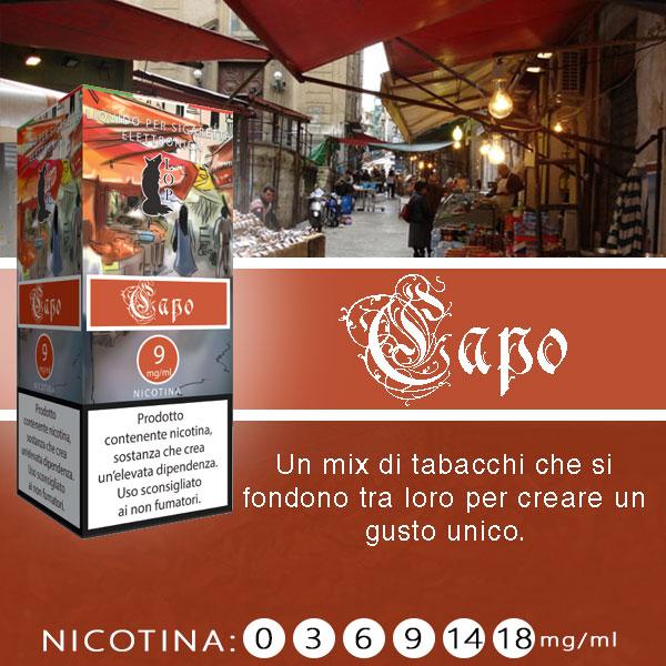 Lop Capo 10 ml Liquido Pronto Nicotina al sapore di un mix di tabacchi dal sapore unico