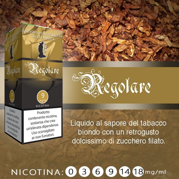 Lop Regolare 10 ml Nicotine Ready Eliquid al sapore di sigaretta aromatizzata
