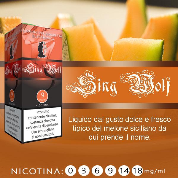 Lop Sing Wolf 10 ml Liquido Pronto Nicotina al sapore di cantalupo