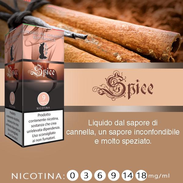 Lop Robusto 10 ml Nicotine Ready Eliquid al sapore di Cannella