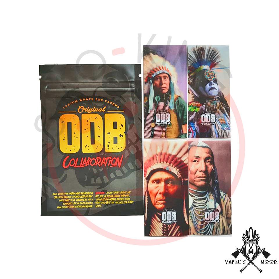 Su Smo-king acquista Wrap Vaper's Mood by OBD per batterie 21700