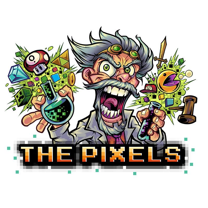 Logo Pixels Flavour