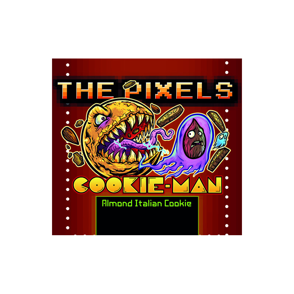 The Pixels Cookie Man Un cantuccio toscano in formato aroma a tripla concentrazione