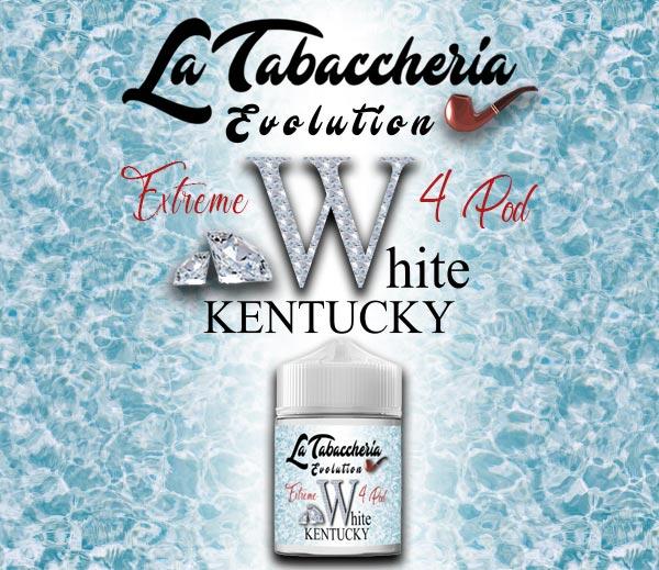 Il nuovo white kentucky di tabaccheria un estratto che non sporca la coil