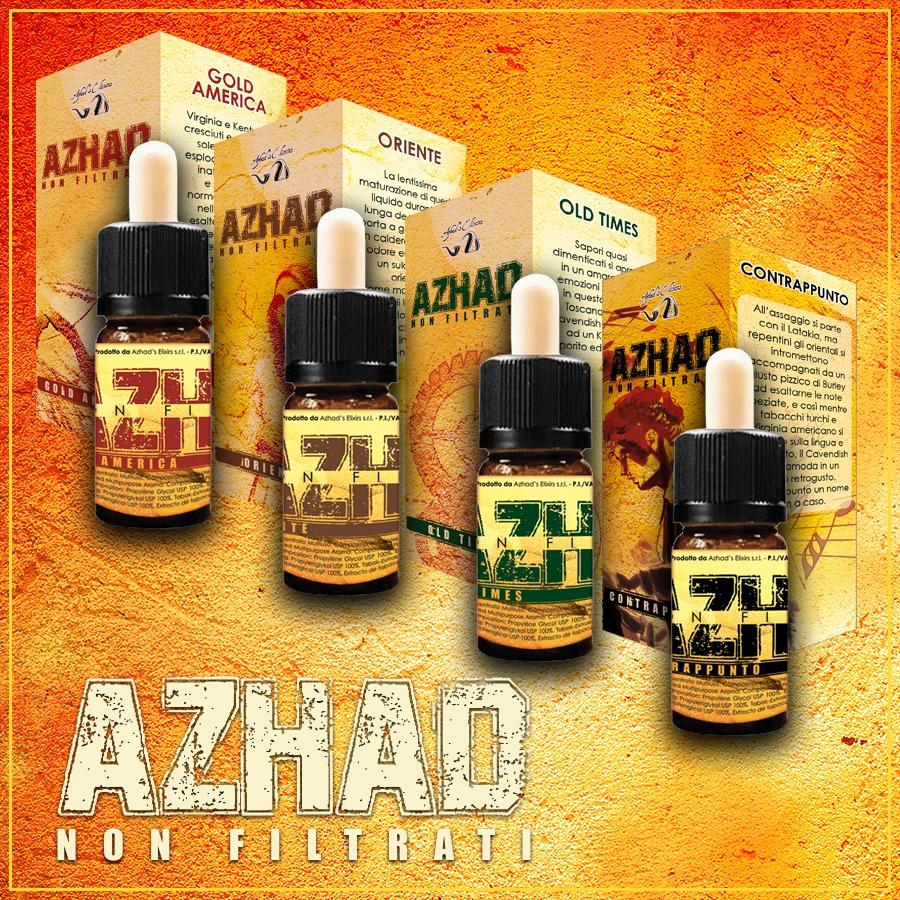 I nuovi aromi azhad non filtrati