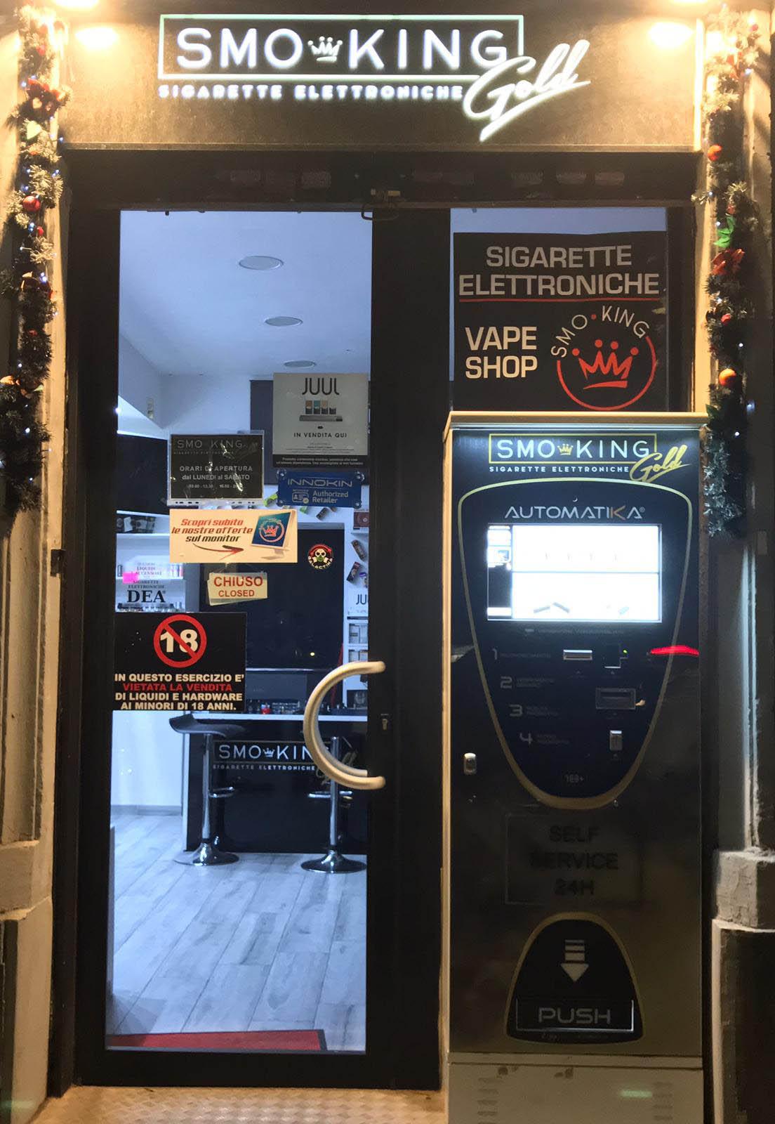 Distributore automatico Smo-King Aosta