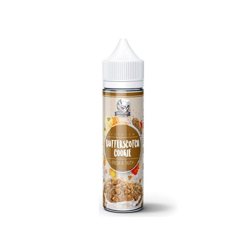 acquista su smo-king nuovo liquuido master chef butterscotch cookie 20 ml aroma scomposto al gusto di biscotto al burro e mou con caramello salato per cloud chasing