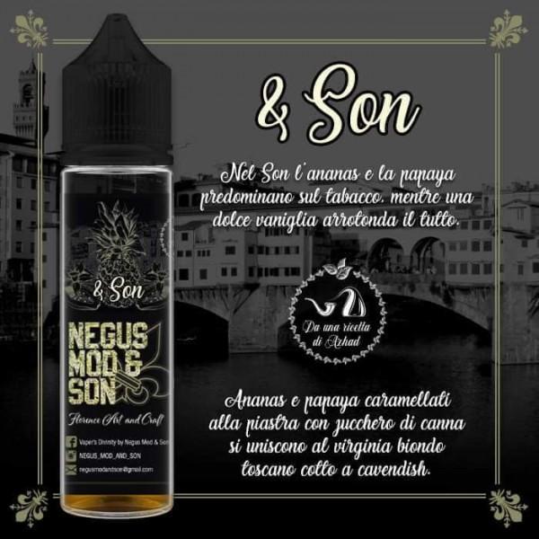 Negus Mod & Son nuovi aromi scomposti 20ml nati da ricette di Azhad's, prova il Son